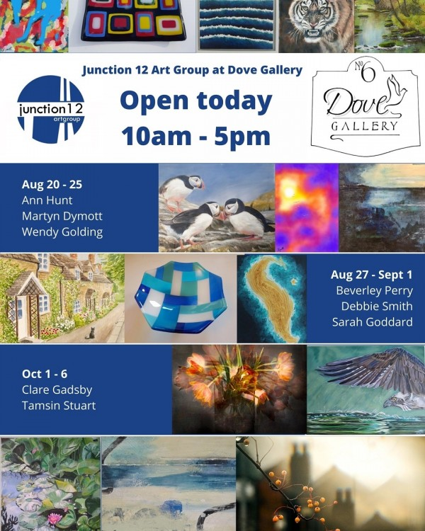 Junction 12 Art Group at Dove Gallery