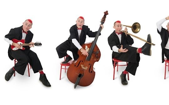Tweedy's Slapstick Symphony, Subscription Rooms, Stroud