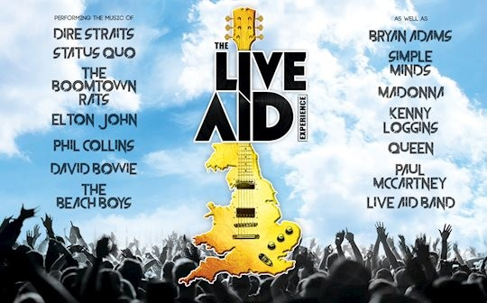 The Live Aid Experience at Stroud Subscription Rooms