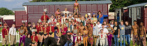giffords circus performers 2016