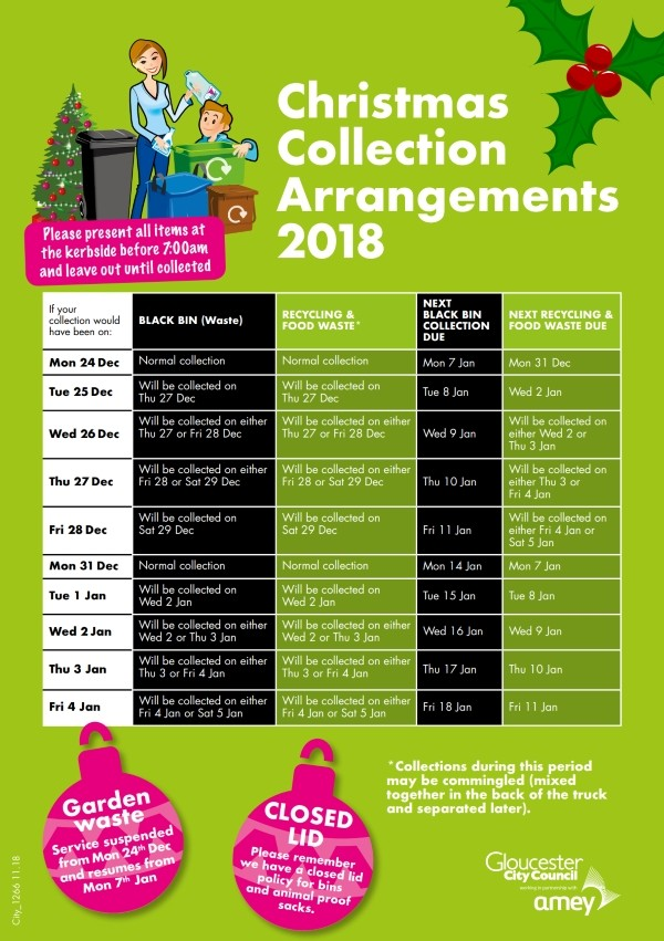 Christmas Waste & Recycling Collections