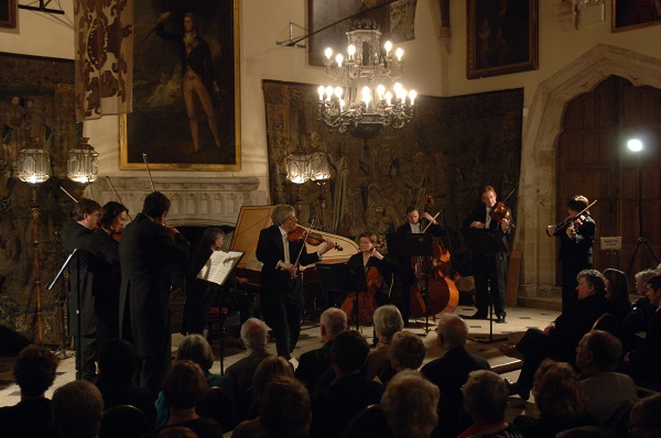 Berkeley Castle Annual ESO Christmas Concert