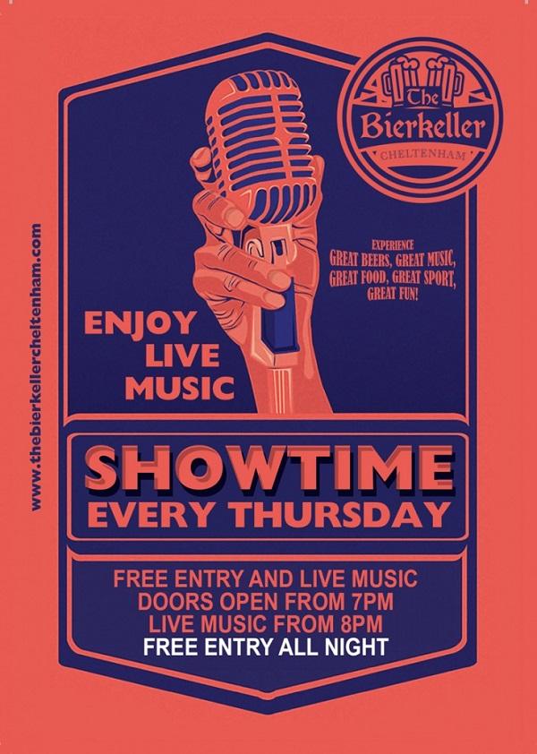 glos info bierkeller cheltenham thursday showtime live music