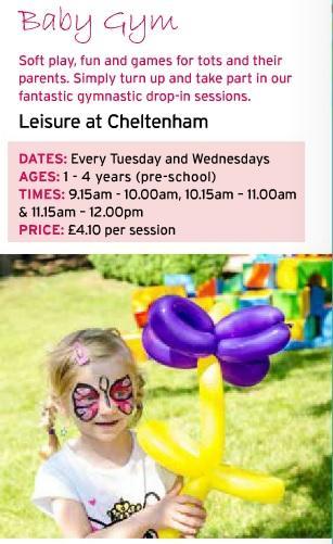 glos info cheltenham trust baby gym