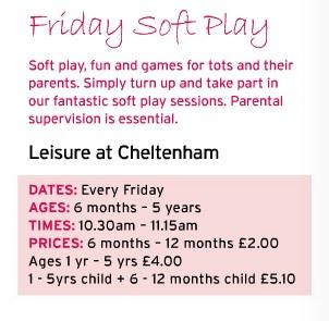 glos info cheltenham trust friday soft play