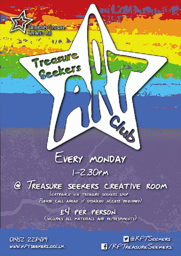 glos info kingfisher treasure seekers art club