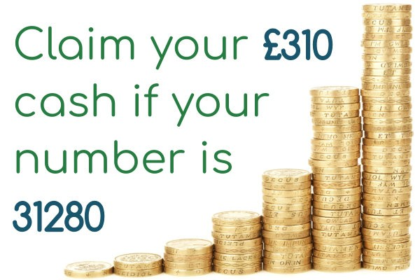 Have you won £310 in our weekly newsletter prize draw?