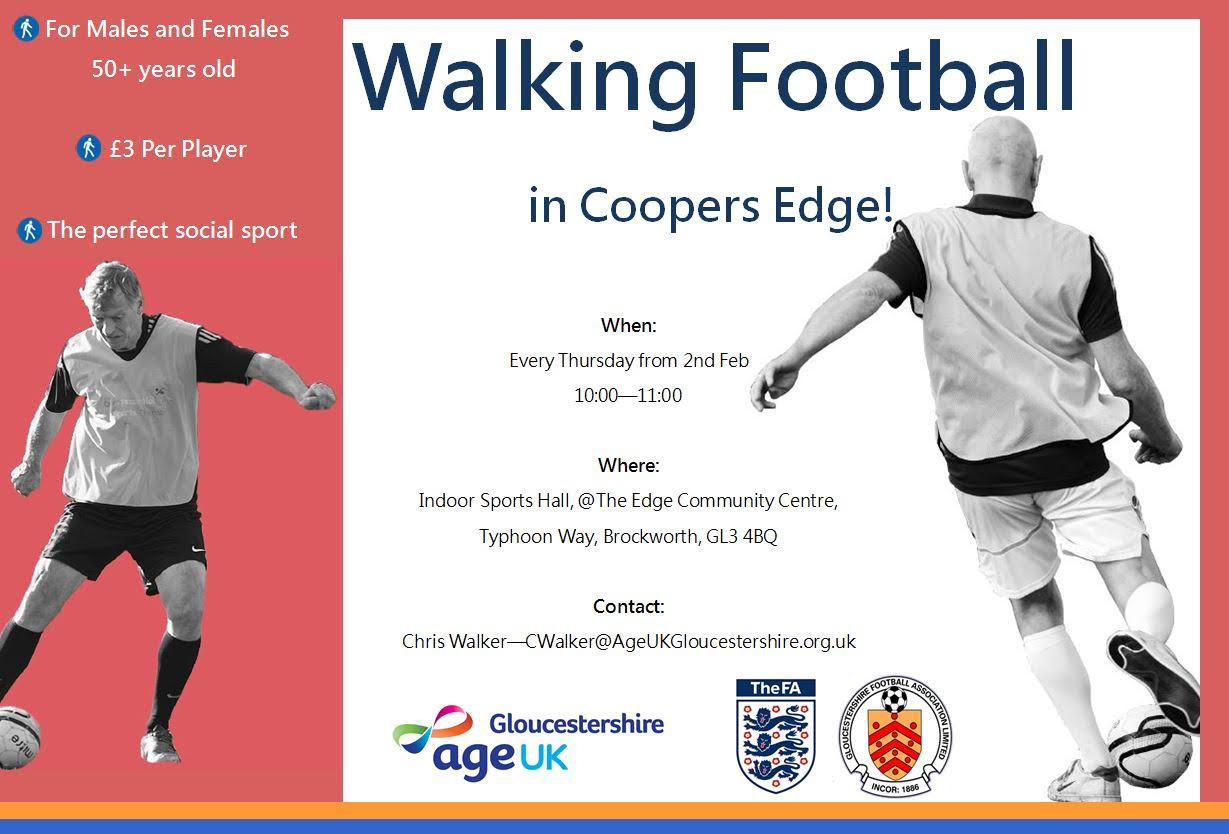 glos.info age uk walking football