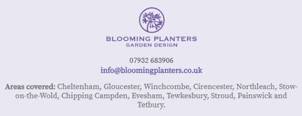 glos.info blooming planters garden design contact