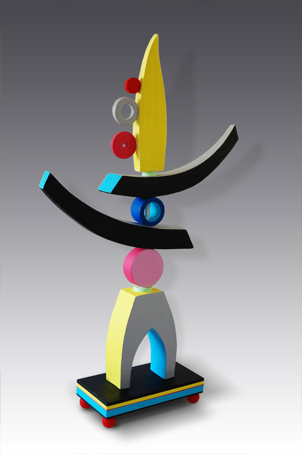 glos.info chapel arts Colourful Sculpture by Patricia Volk