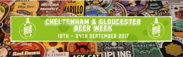 Cheltenham & Gloucester Beer Week 2017
