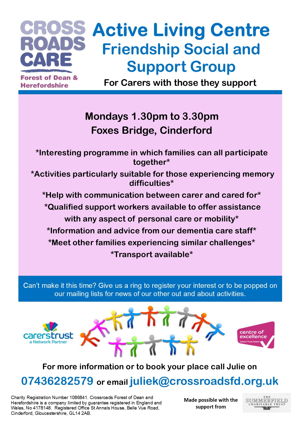 glos.info crossroads care support group