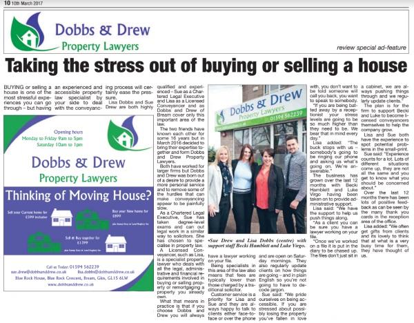 glos.info dobbs and drew property lawyers