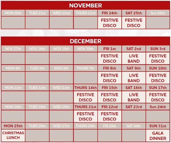 glos.info jurys inn cheltenham stay happy christmas calendar