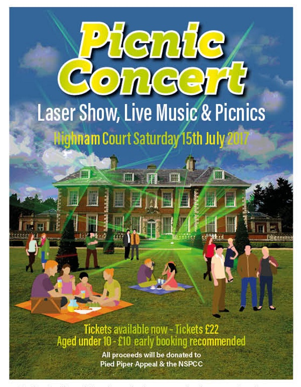 glos.info Top Ten for July Pied Piper Appeal Picnic Concert - Laser Show, Live Music & Picnics