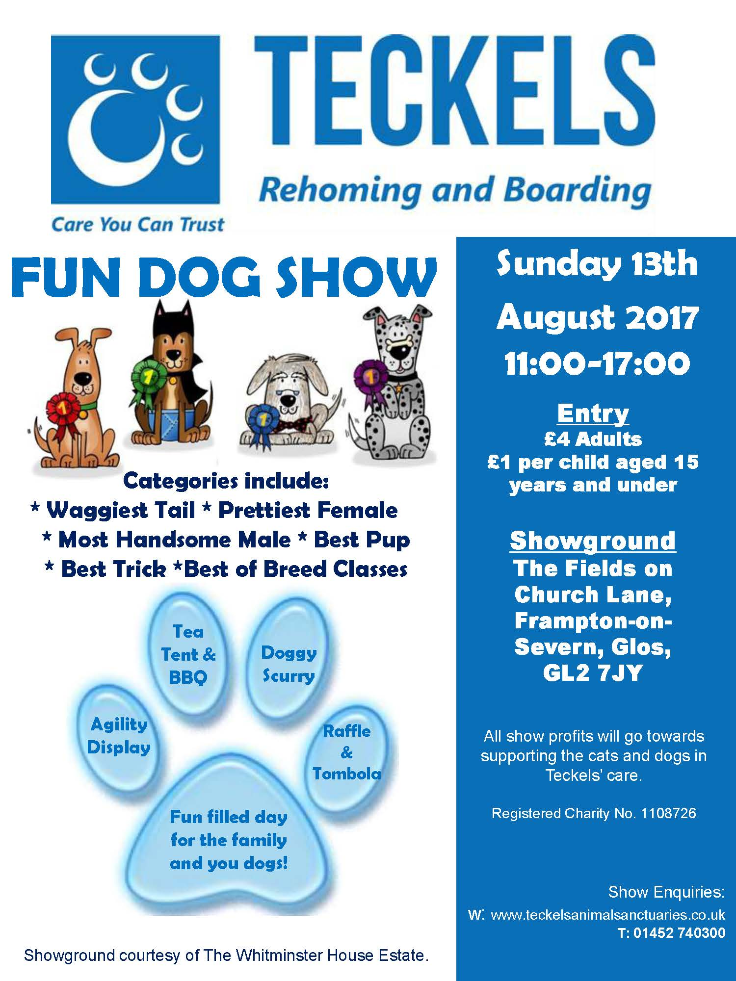 glos.info teckels animal sanctuary fun dog show