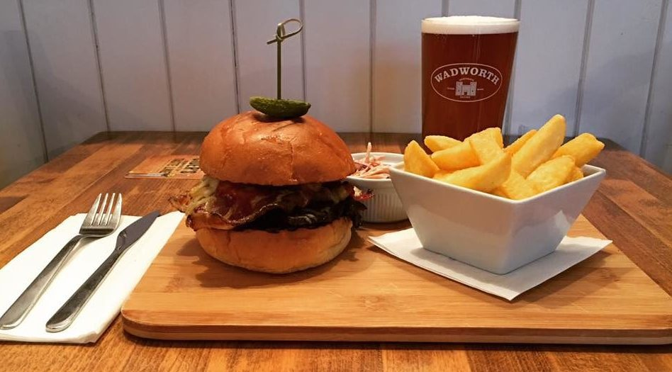glos.info the wheatsheaf tuesday burger offer