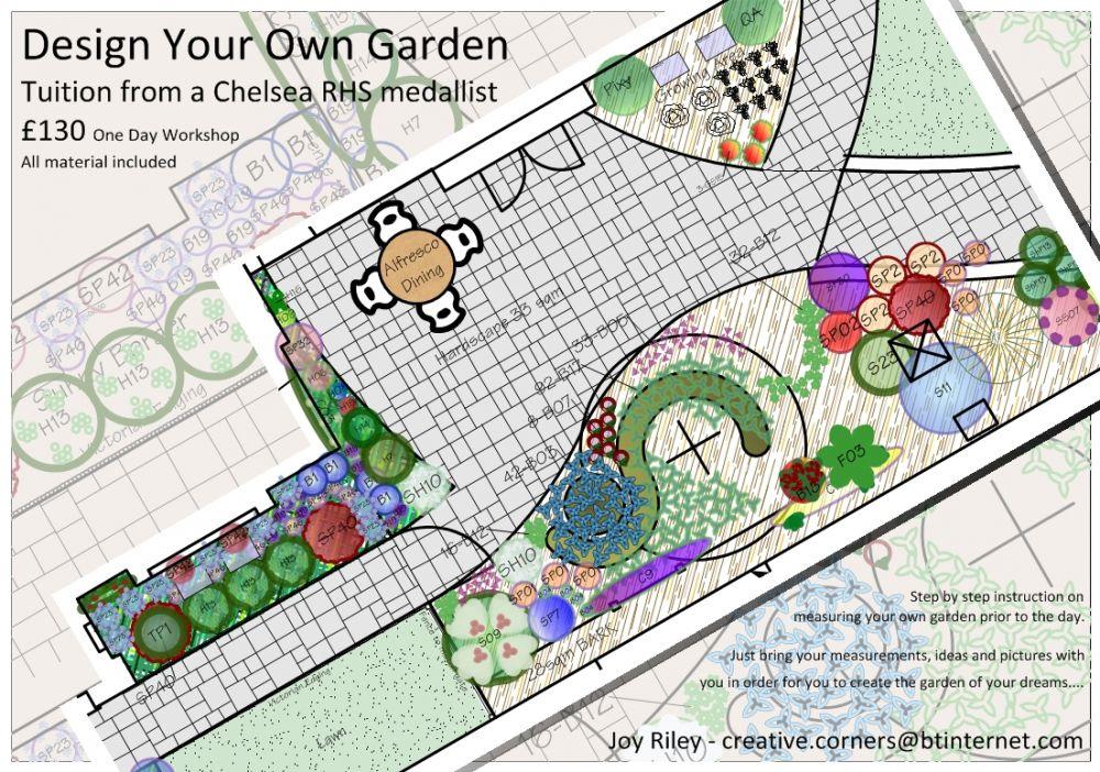Design your own garden 1 day workshop for Create your own garden design