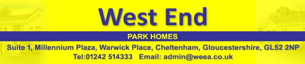 glos.info west end park homes 2