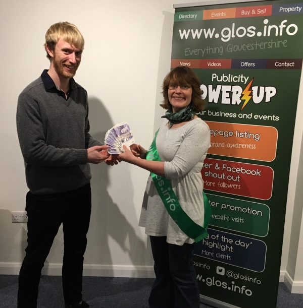 glos.info winner of the weekly newsletter prize draw 24110c 752512