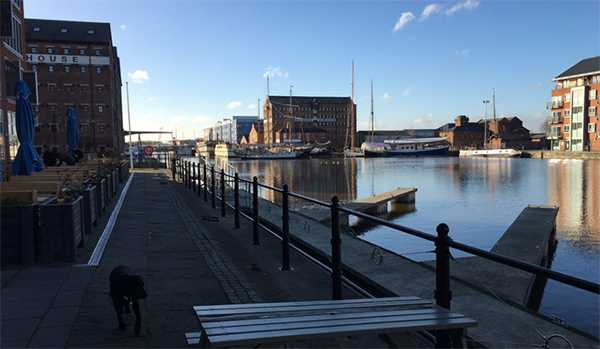 gloucester docks winter 2016