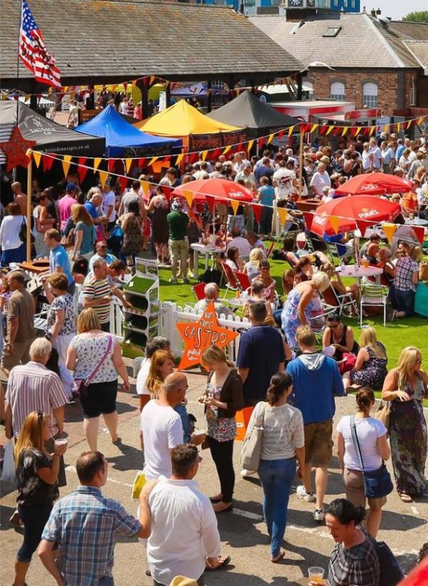 Food Market Gloucester Quays