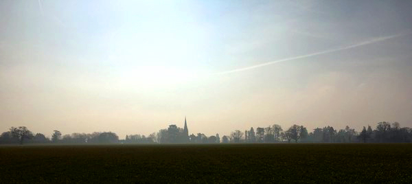 highnam church skyline