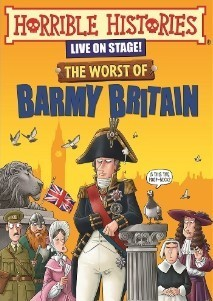 horrible histories barmy britain bacon theatre