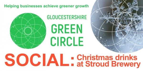 The green Christmas social for Glos' businesses