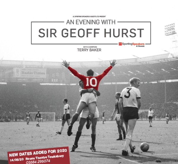 COMPETITION - WIN a pair of tickets for An Evening With Sir Geoff Hurst