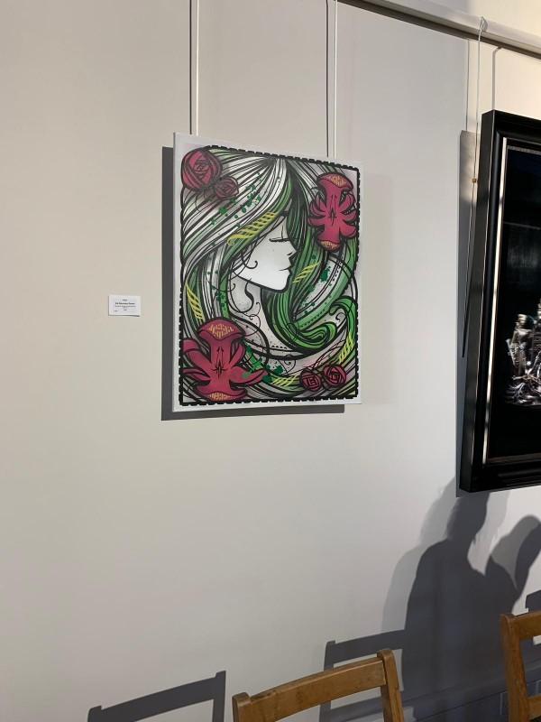 inki-painting-woman-cheltenham-paint-festival