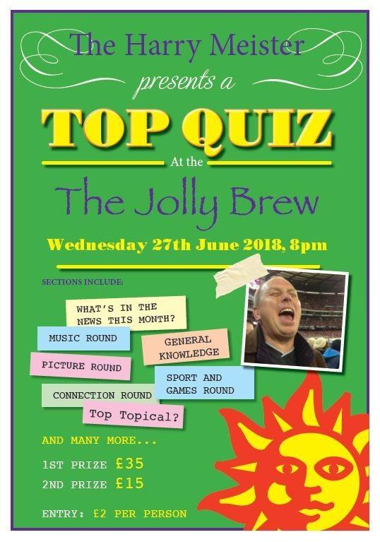 Jolly Brewmaster Quiz Night
