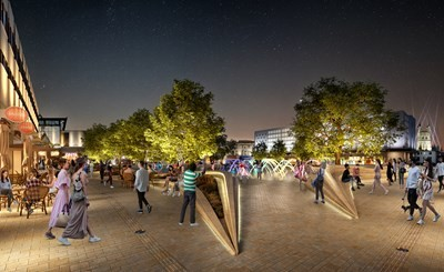 Latest images reveal how Gloucester's Kings Square could look
