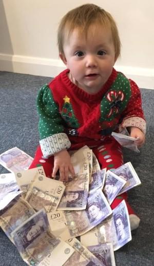 Mabel winning cash