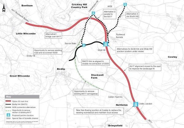 'Missing Link' proposal unveiled for route linking Midlands and South West