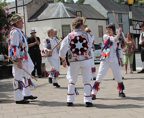 morris dancing folk