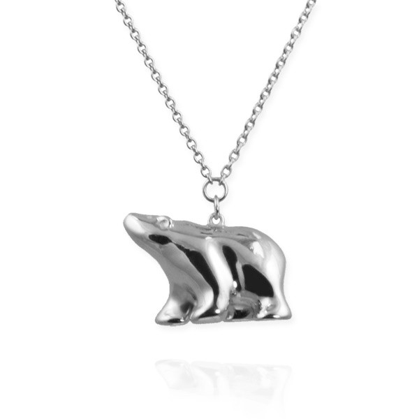 COMPETITION to WIN a beautiful handmade sterling silver polar bear necklaces worth £95