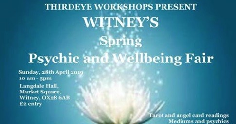 Spring Psychic and Wellbeing Fair