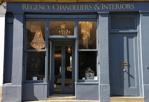 Regency Chandeliers & Interiors Showroom