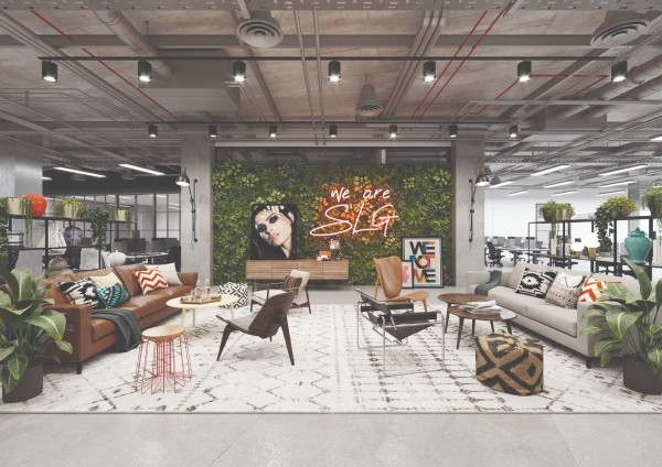 """The innovatively designed new office space created by SLG will also include a 5,500 sq ft sub-let area available for lease, also from January 2019.  Phil Martin, Director of Martin Commercial Properties who manages The Brewery Quarter, said """"We're delighted to welcome SLG to The Brewery Quarter. Their addition means that as well as being a destination for leisure, retail, hotel and dining, we are now a hub for business too. SLG has built a reputation for its creative and forward-thinking approach to office space and is a company that employs passionate people who love to work there. We are very much looking forward to welcoming the SLG team when their stylish new office is ready in January.""""  BACKGROUND:  SLG: founded in 1985 by Miles' mother and father – Graham and Bobbie Dunkley in Gloucestershire  Then: Maker of cosmetic sponges and powder puffs  Now: Pioneering fast-beauty innovator and global brand builder. High growth, international player with incredible creative capability and reputation.  Ownership: Privately owned  Turnover: 2017 turnover of £38 million. Projected to be £75 million by 2023  Growth: Doubling every 5 years for the past 20 years  Staff: 120  Locations: HQ in Cheltenham. Satellite office in Shanghai  Business Overview: Having sold its manufacturing divisions earlier in the year, SLG business is now an agile out-sourced business entirely focussed on its dynamic portfolio of high-fashion, millennial targeted beauty brands. The portfolio spans SLG owned brand assets such as Johnny's Chop Shop men's hair styling, COLAB Dry Shampoo, Velvotan Self-Tanning as well as long term strategic brand partnerships (a more integrated and strategic form of licensing) with brands such as Superdry, Zoella Beauty, Skinnydip, Missguided, Hype and Laura Ashley.  Geographic reach: Brand distribution in 38 countries.  Product Scope: Cosmetics, Haircare, Fragrance, Bath & Body, Beauty Accessory, Self-Tanning"""