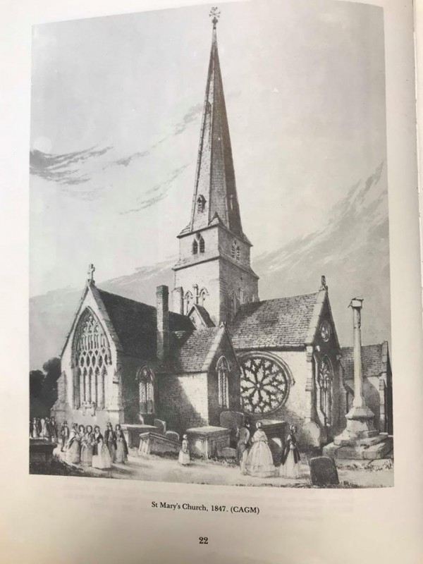 st marys church in 1847 cheltenham history