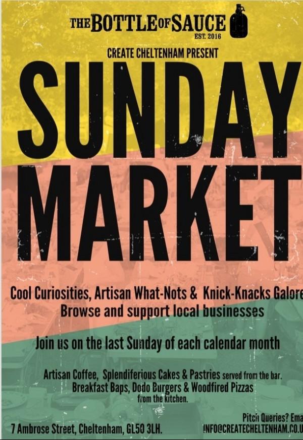 sunday market cheltenham