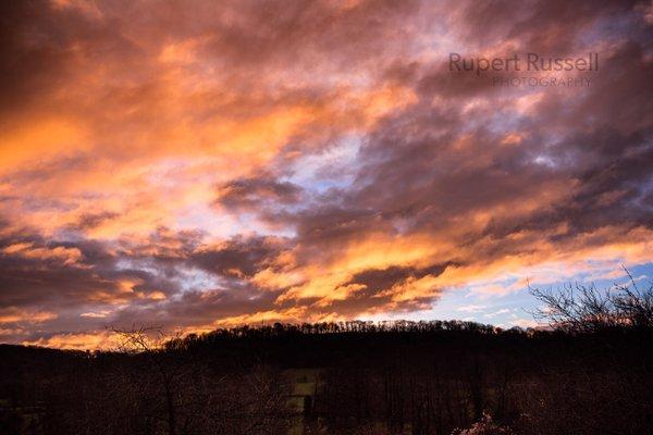 sunrise uley cotswolds 2016 jan