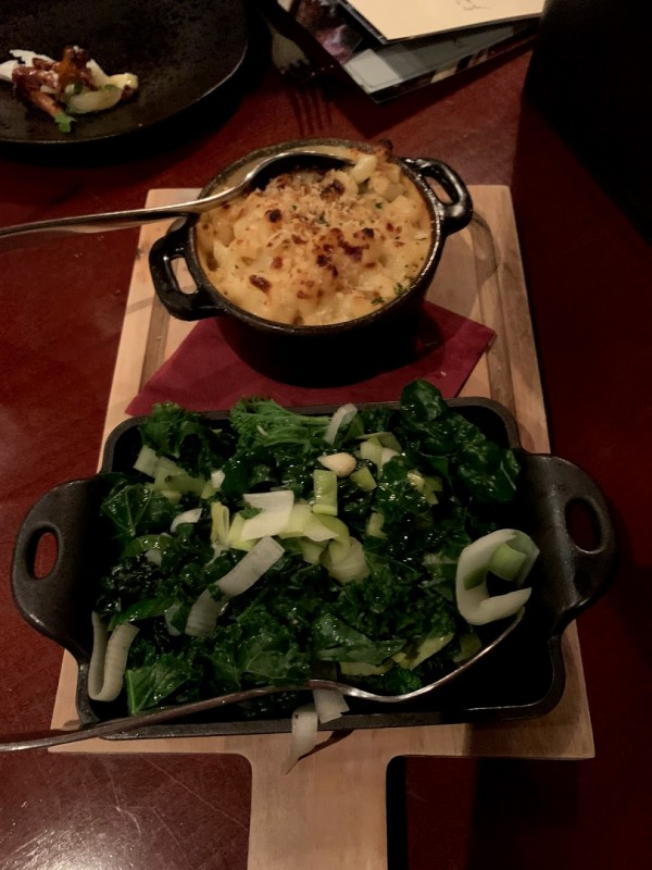 the ox review mac cheese veggie