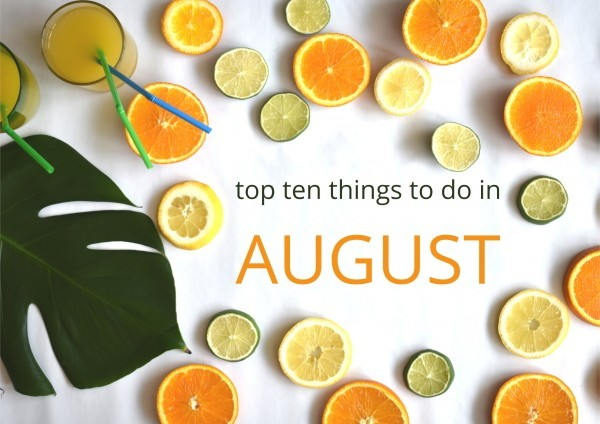 top 10 august
