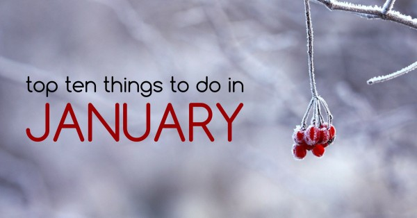 top ten things to do in january