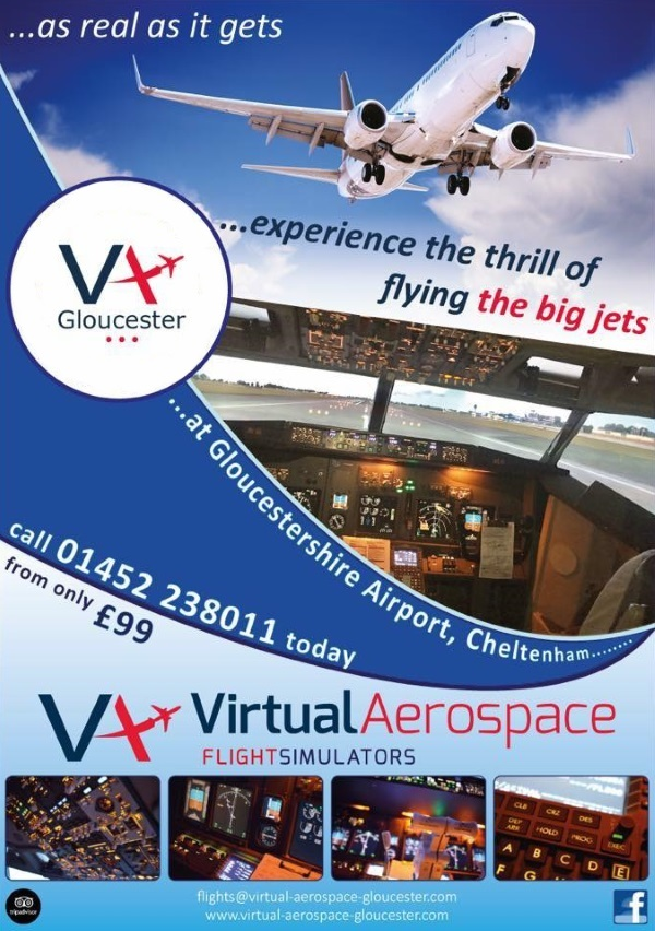 virtual aerospace gloucester thrill of flying