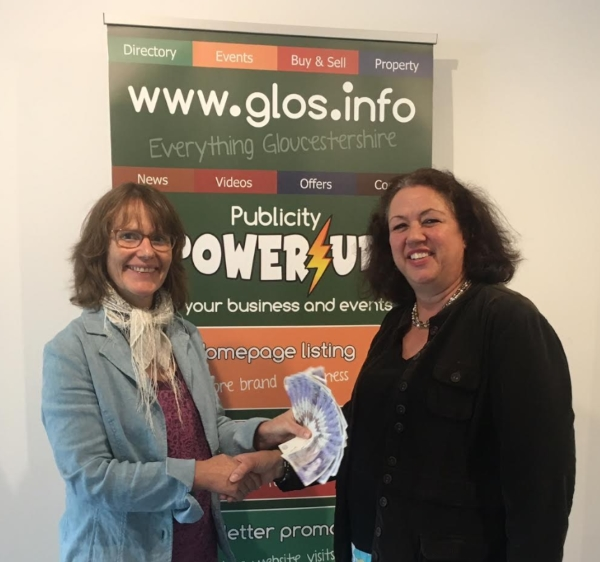 www.glos.info Prize Draw £340 cash prize claimed winner