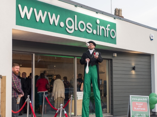 www.glos.info Launch evening Cheltenham