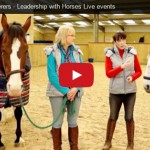 Leadership Whisperers - Leadership with Horses Live events - VIDEO